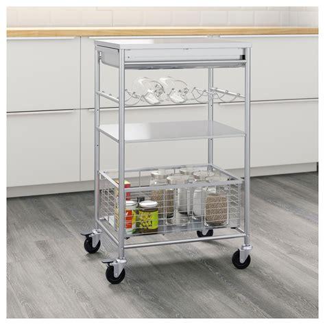 Ikea Raskog Troli 1 grundtal kitchen trolley ikea k c r