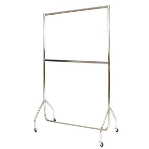 Wardrobe Clothes Rail by Garment Rail Buy Portable Clothes Stand Mobile Wardrobe