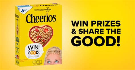 Ellen 12 Days Of Giveaways 2017 Tickets - ellen and cheerios one million acts of good giveaway winzily