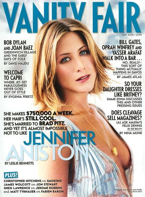 Best Vanity Fair Articles by The Unsinkable Aniston Vanity Fair
