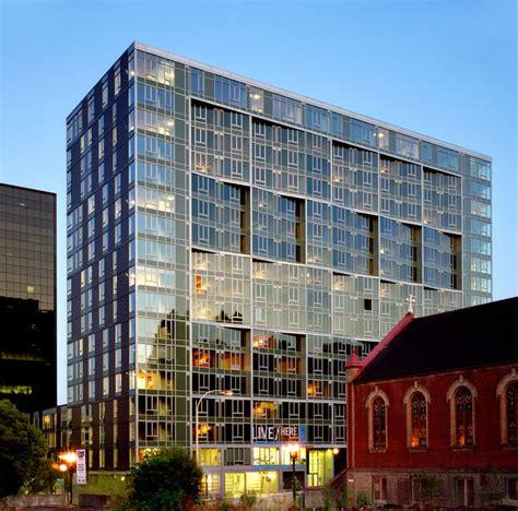 architects portland oregon cyan pdx building by tha architecture inc gbd