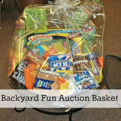 backyard gifts fundraiser auction baskets 10 great gift basket ideas