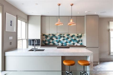 imposing eating bar kitchen islands with copper pendant 21 awesome designs of fish scale tile messagenote