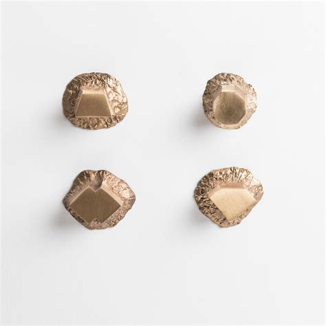 Pomelli In Ottone Solido Pomello Ottone Confezione