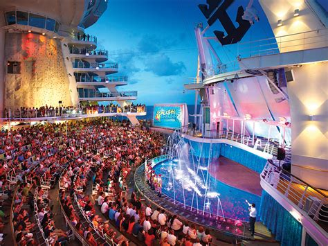 dive shows cruise details about the ship royal caribbean