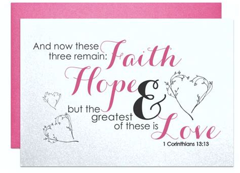 Wedding Greeting Bible Verses by Wedding Cards Bible Verse Card 1 Corinthians 13 13