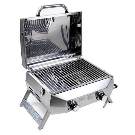 Table Top Bbq Grills by Superspace 20 000 Btu 2 Burner Stainless Steel Bbq