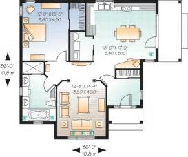 One Bedroom Home Floor Plans Smart Way For Designing One Bedroom Home Plans One Bedroom