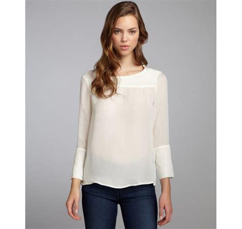 Sweater Zipper Marshmello marc by marc marshmallow silk zip shoulder three