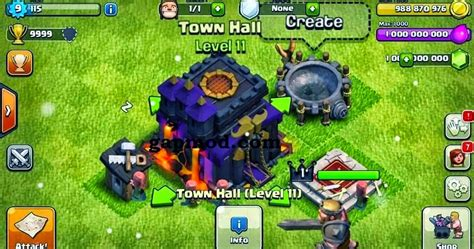 game mod apk coc terbaru download clash of clan mod v7 1 1 terbaru 2015 apk
