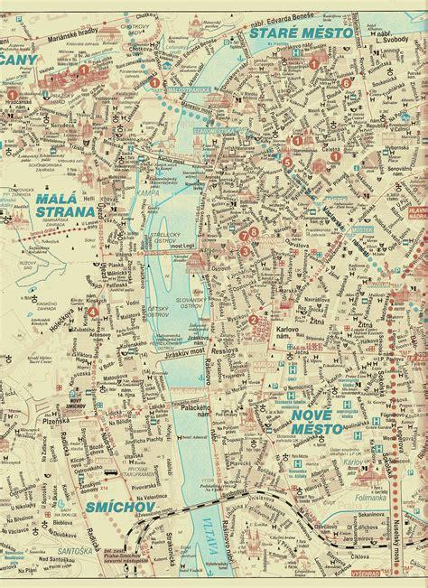 prague map large prague maps for free and print high