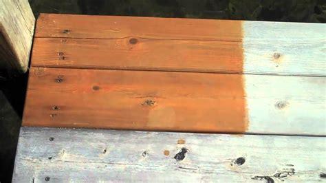 deck sealer test results part  youtube