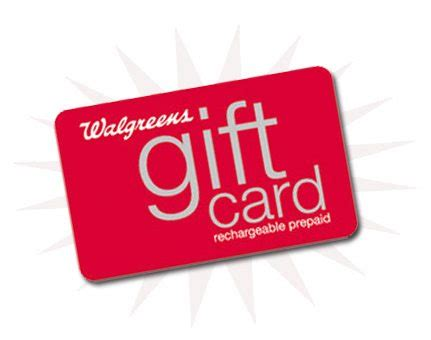 Gift Card At Walgreens - win a 50 walgreens gift card ends 2 24