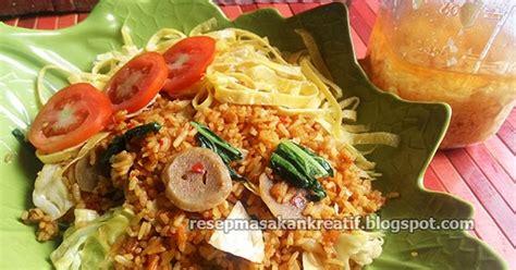 membuat nasi goreng ala chinese food resep nasi goreng rahasia spesial bumbu baceman bawang