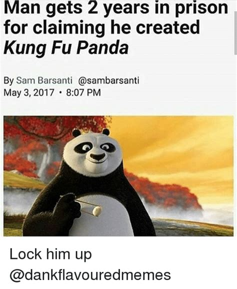 Fu Meme - man gets 2 years in prison for claiming he created kung fu