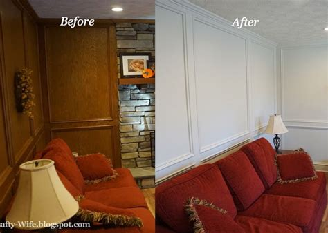 how to paint paneling dsc1125 before after painted judges painted paneling before and after a crafty wife