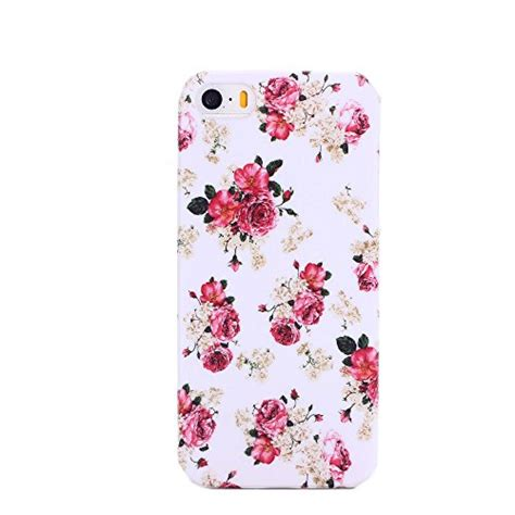 Op4803 Black Froral Flower Print For Iphone 5 5 Kode Bi 2 galleon cyberstyle floral print tpu rubber for iphone 5 5s with screen protector