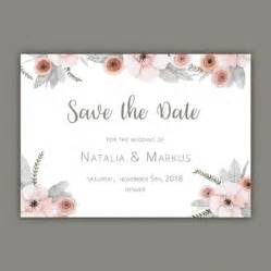 save the date cards template free wedding invitation vectors photos and psd files free