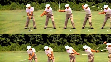Ben Hogan Golf Swing Sequence Youtube