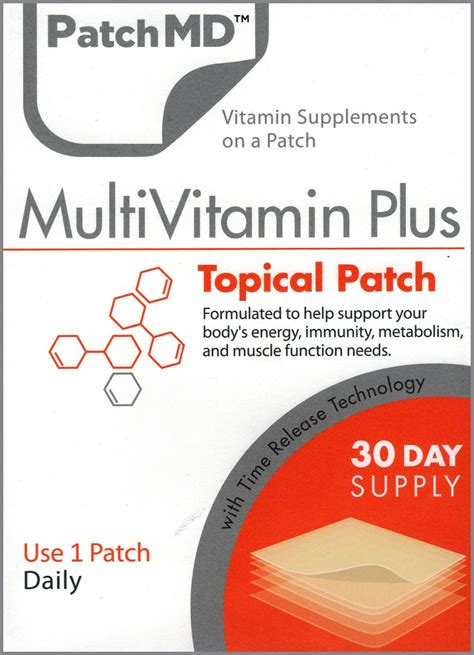 Multivitamin Plus multivitamin plus patch 30 day supply by patchmd