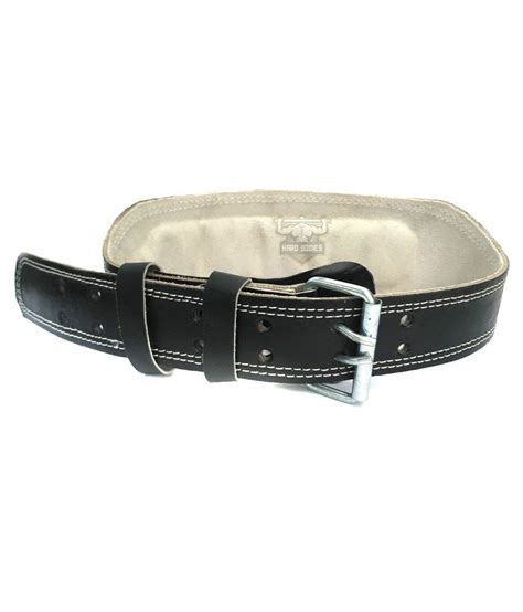 bodies leather belt with padded back support buy