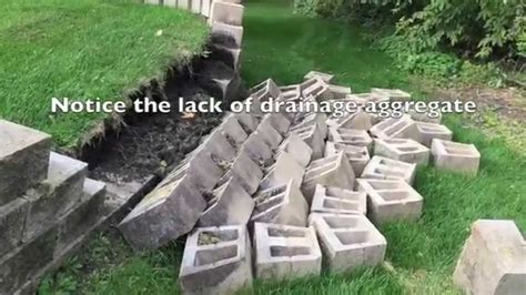 How to Build a Retaining wall (and why they Fail)   YouTube