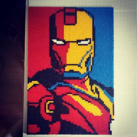 marvel perler 209 best images about hama comics on