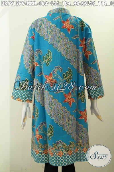 Istimewa Pakaian Wanita Dress Mimi pakaian batik istimewa harga biasa dress batik kancing banyak untuk wanita karir til gaya