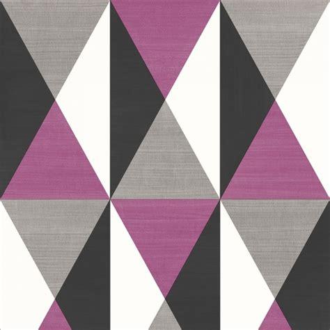 geometric triangle pattern wallpaper muriva rhombus geometric pattern textured wallpaper j67906