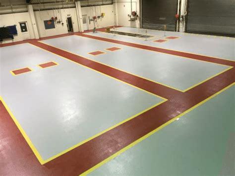 Slip Resistant Flooring by Slip Resistant Factory Resin Flooring Corroless Eastern