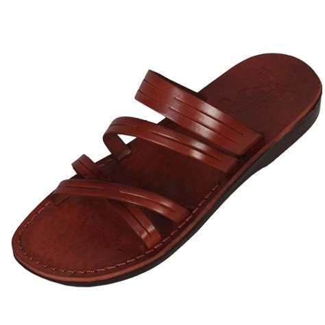 Handcrafted Leather Sandals - sinai handmade leather sandals clothing judaica web store