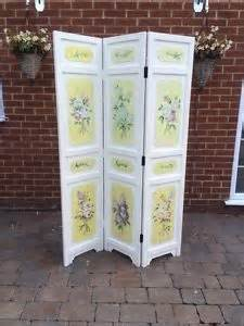 Shabby Chic Room Divider Painted 3 Panel Shabby Chic Screen Room Divider Floral Free Uk P P