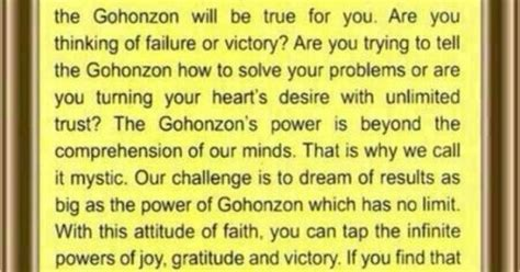 Muster Your Faith And Pray To The Gohonzon Power Of Gohonzon Buddhism Buddhism Faith
