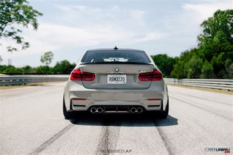 stance bmw stance bmw m3 f30 rear view