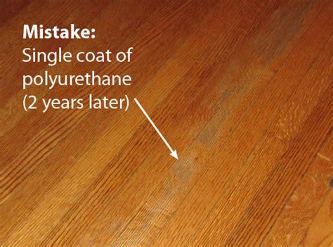 How To Polyurethane Wood Floor by Finish Coating The Platform Storage Bed