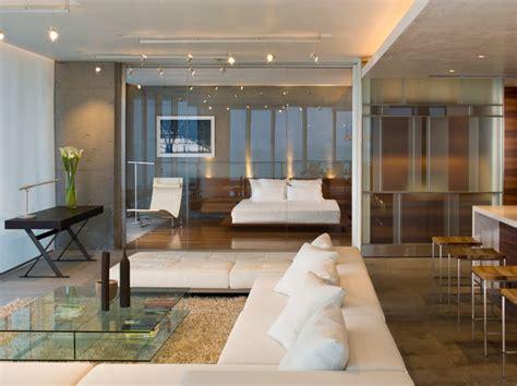 glass wall design for living room larissa sand sand studios miami beachfront condo modern