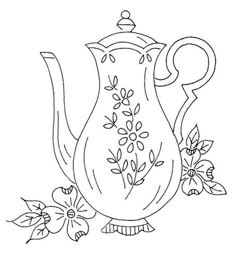 vintage patterns coloring pages 62 best teapots coffee coloring pages images on