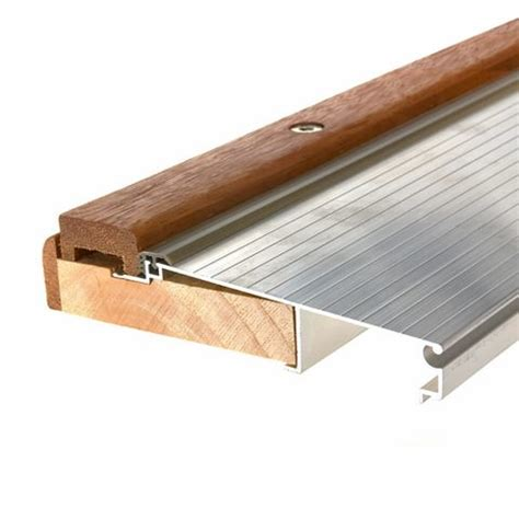 How To Replace A Metal Threshold On An Exterior Door Aluminum Quot Pro Grade Quot Thresholds King 174 Weatherization Products