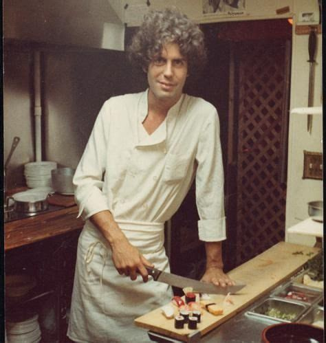 Link From Anthony Bourdain To Food by A Anthony Bourdain Chefs And Cooks