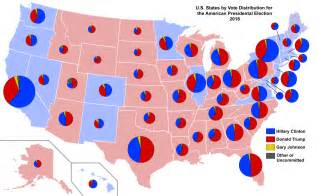 us election 2016 editable map file 2016 presidential election by vote distribution among