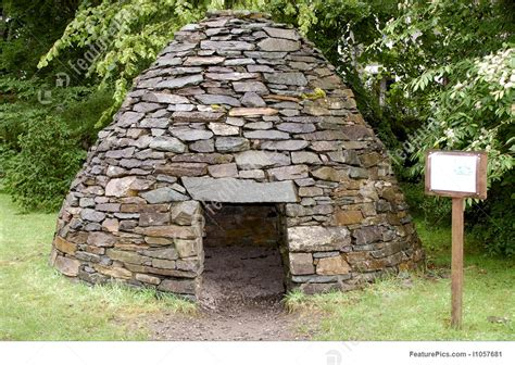 Software For House Plans recreation of a stoneage hut stock photo i1057681 at