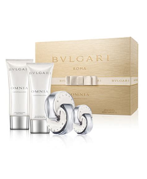 Set Bvlgari bvlgari 4 pc omnia crystalline gift set fragrance macy s