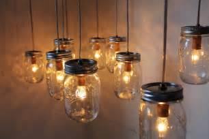 diy indoor hanging from ceiling jar candle lanterns