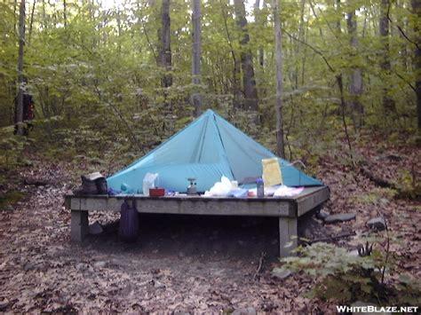 tent platform sherman brook tent platform whiteblaze gallery