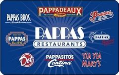 Pappas Gift Card Balance - buy pappas restaurants gift cards at a discount giftcardplace