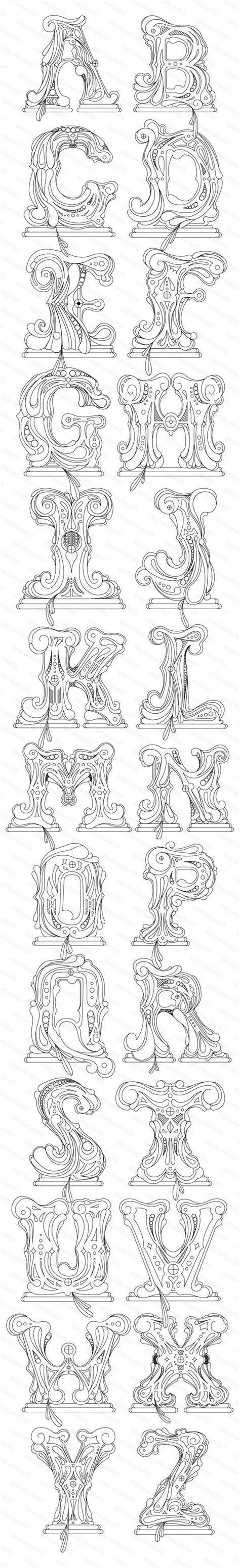tattoo alphabet transfers 126 best images about im 193 genes de abecedarios n 218 meros