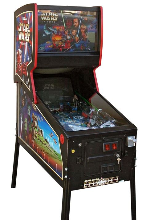 Star Wars Episode 1 Pinball Machine   Liberty Games