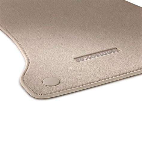velours floor mats silk beige c class cabrio a205 genuine mercedes benz