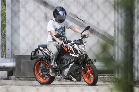 ktm electric motocross bike electric ktm e duke spied