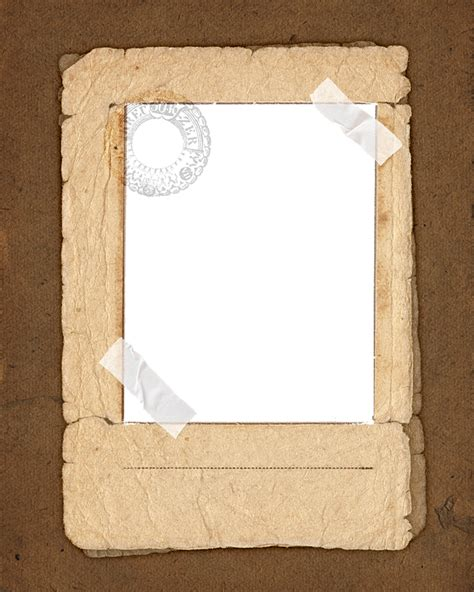 Transparent Craft Paper - free illustration vintage paper frame image free